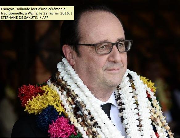François Hollande respecte les coutumes de Wallis-et-Futuna