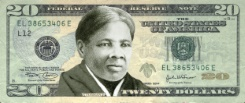 Billet américain avec Harriet Tubman