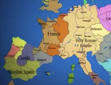 La France en 1201