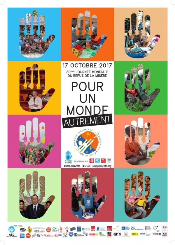 17 Octobre, journée mondiale du refus de la misère
