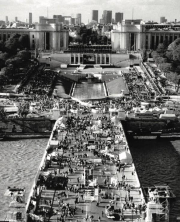 journée mondiale de refus de la misère - Trocadero1987
